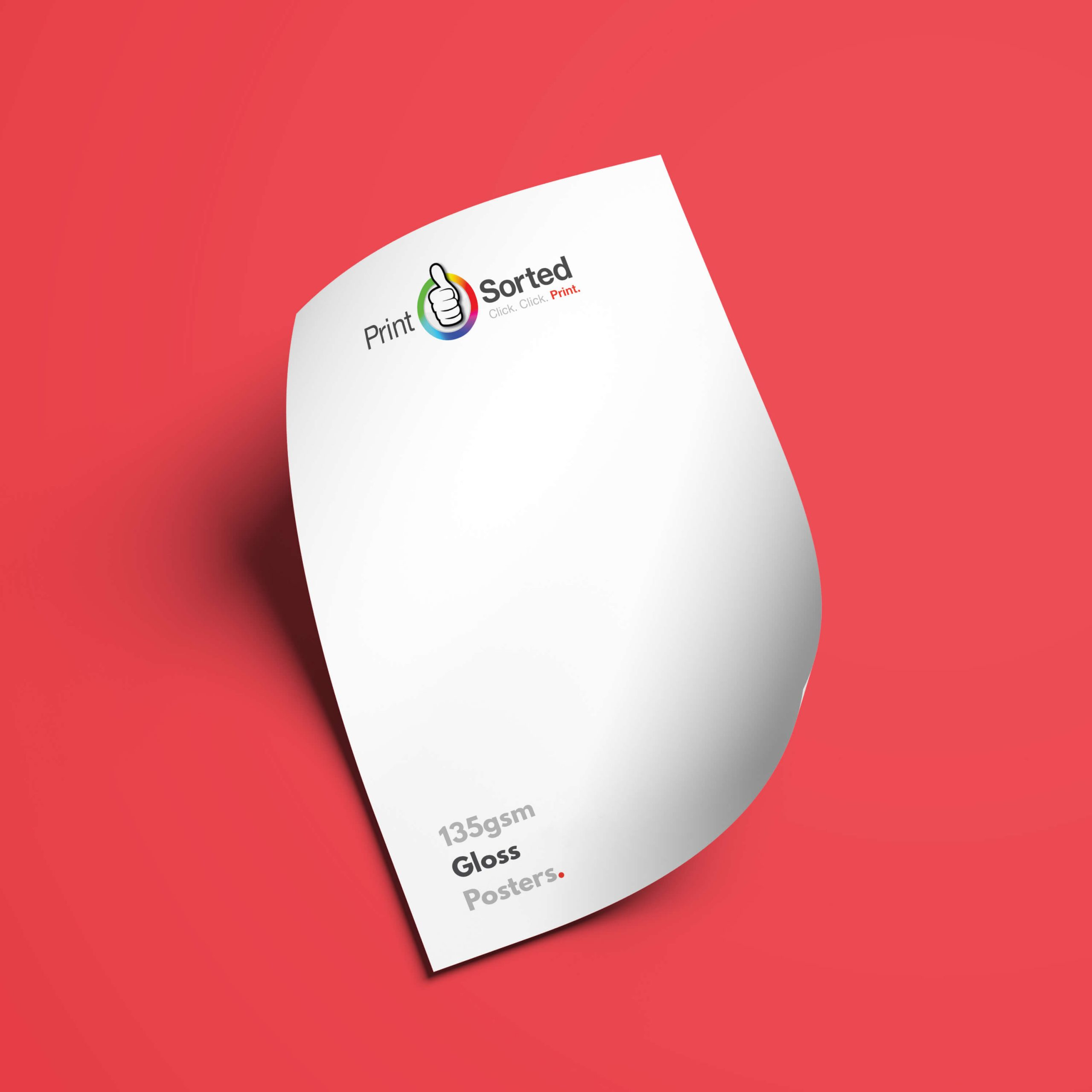 135gsm Gloss Posters by printsorted