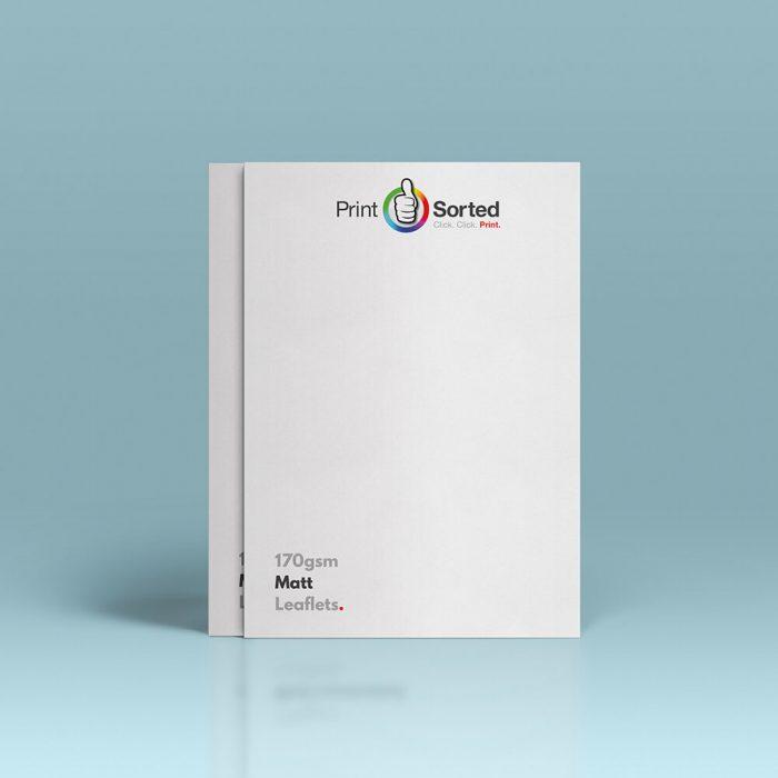 170gsm Matt Leaflets by printsorted