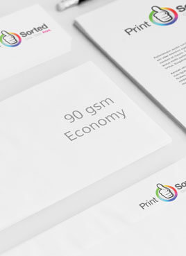 90gsm Economy Compliment Slips by printsorted