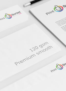 120gsm Premium Compliment Slips by printsorted