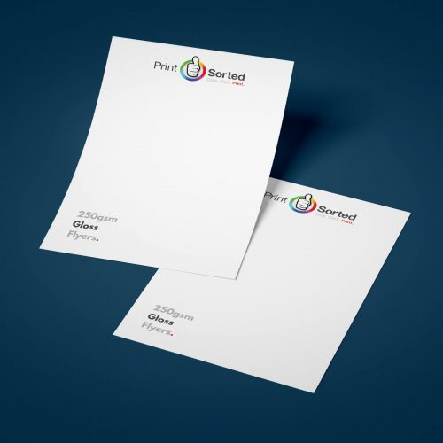 250gsm Gloss Flyers by printsorted